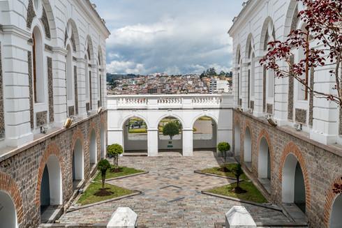 Quito Ecuador Museum View