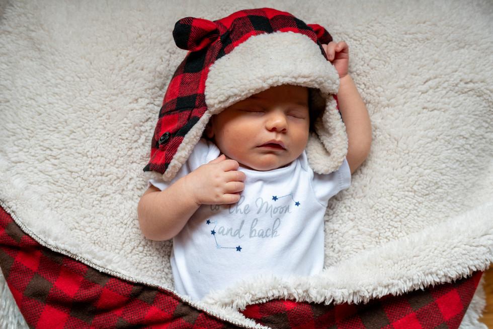 CT Newborn Photoshoot