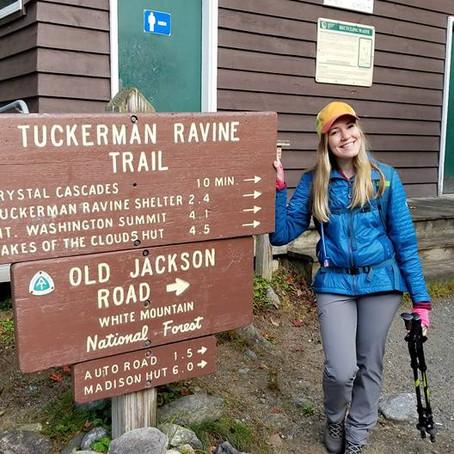 Camping in the White Mountains & Hiking Mount Washington