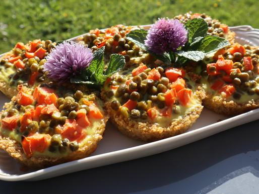 Tartelettes salées sans gluten