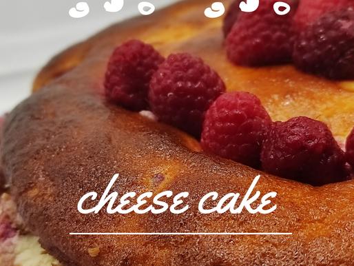 Cheese cake à la framboise