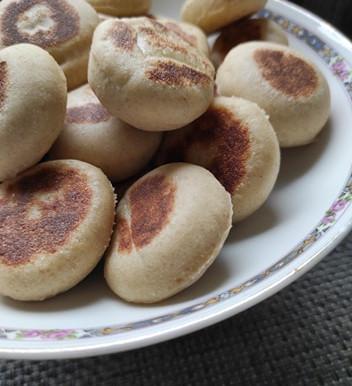 Batbout le petit pain  marocain