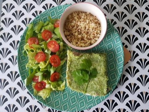 Filet de lieu noir, brocoli et parmesan