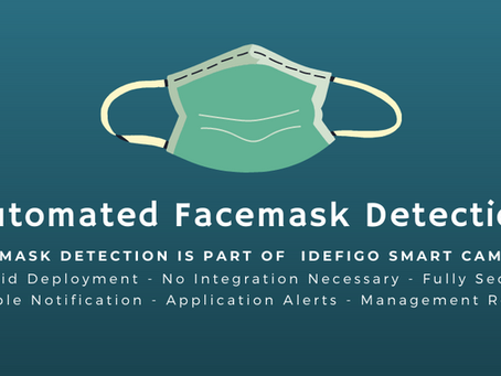 Using Face Mask Detection Cameras to ensure people are adhering to new regulations