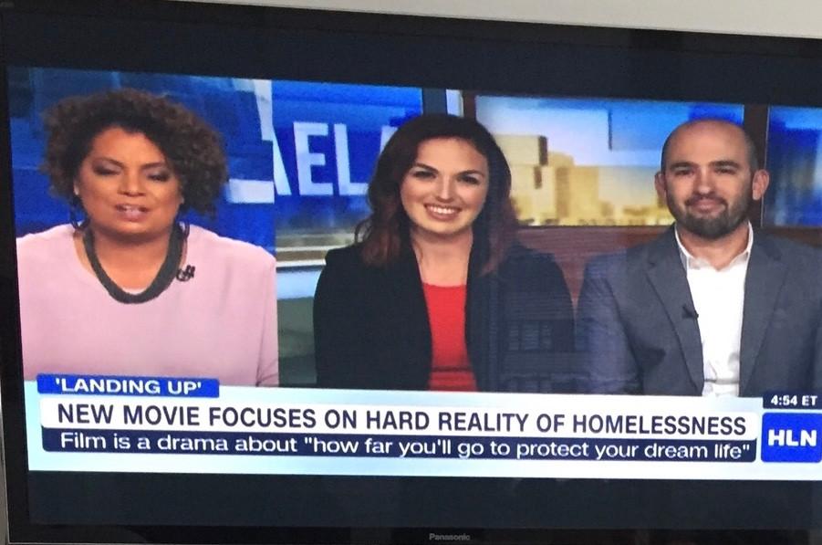 Live on CNN HLN