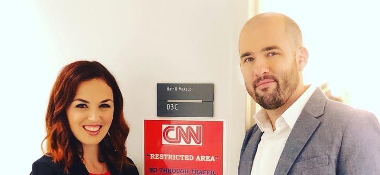 Live on CNN!