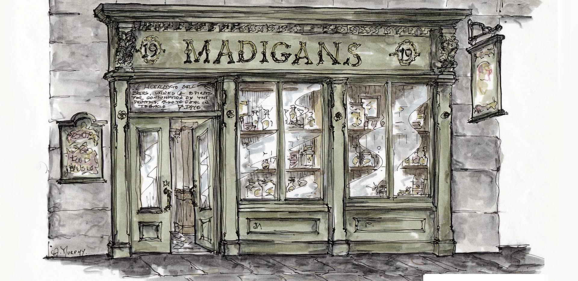 Madigan's Pub, 19 O'Connell Street Dublin, beside The Gresham Hotel, AM Design, Traditional Irish Pub Design & Fit-Out www.amdesign.ie @amdesignireland