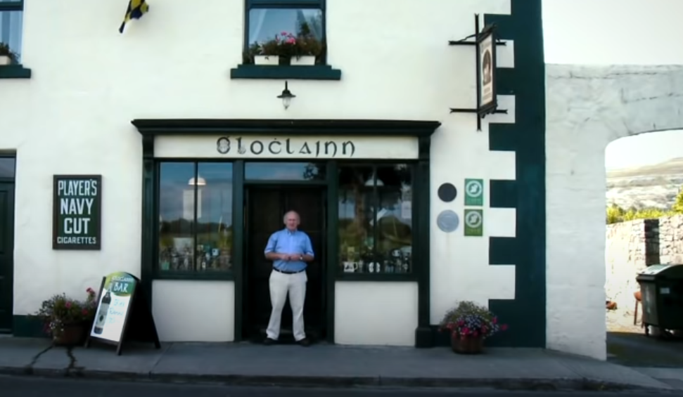 The Irish Pub Film, O'Loclainn's Pub, Irish Whiskey collection, Ballyvaughan, Co. Clare