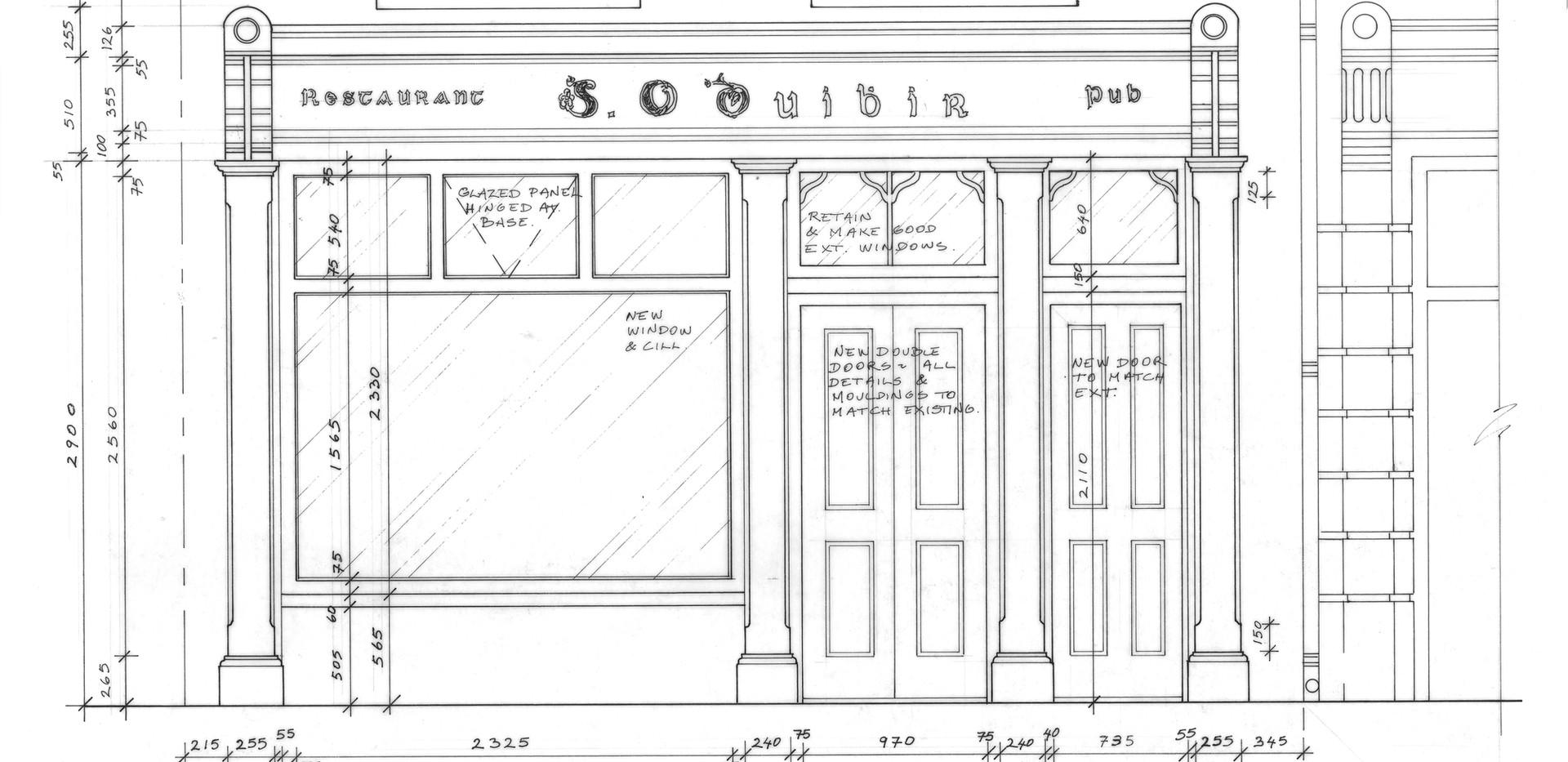 AM Design, Traditional Irish Pub Design & Fit Out, Angela Murphy Design Associates, Ltd., Bray Co. Wicklow, www.amdesign.ie @amdesignireland Crotty's Pub, The Square, Kilrush, Co. Clare, extension to O'Dwyers Shop, www.crottyspubkilrush.com