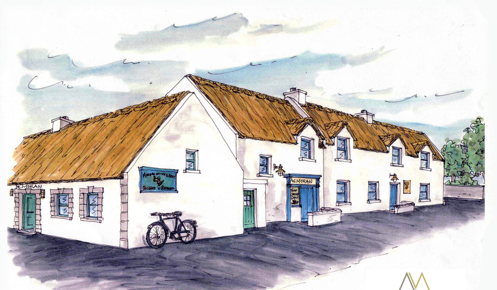 Moran's Oyster Cottage, Moran's of the Weir, Kilcolgan, Co. Galway, extension to back of the original cottage.