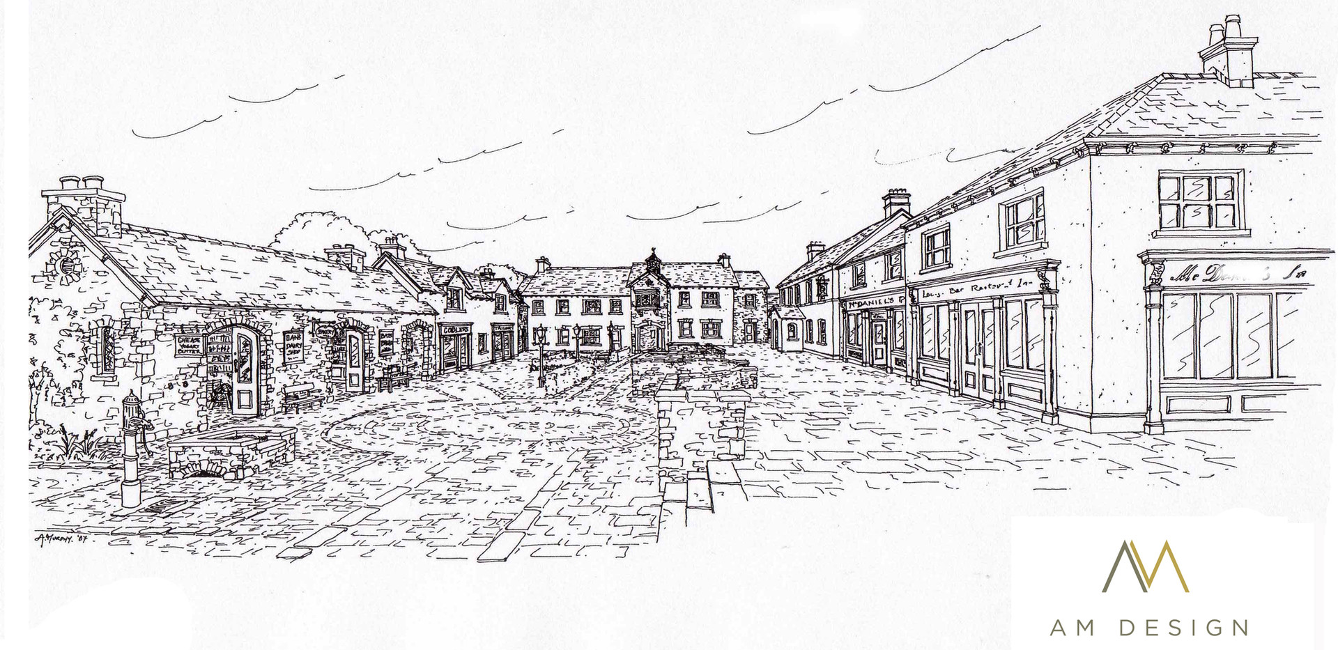 AM Design, Design for Heritage residential and mixed use tourism development, County Wicklow