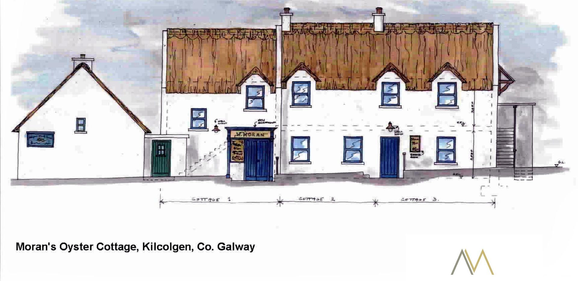 Moran's Oyster Cottage, Moran's of the Weir, Kilcolgan, Co. Galway