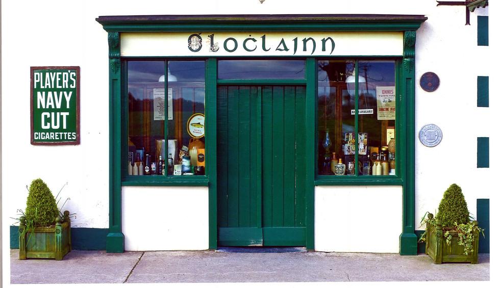 O'Loclainn's Whiskey Bar, Ballyvaughan, Co. Clare, Real Irleland Calender 2013