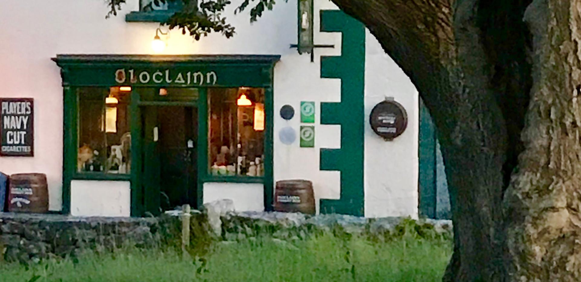 O'Loclainn's Whiskey Bar, Ballyvaughan, Co. Clare, Traditional Irish Pub