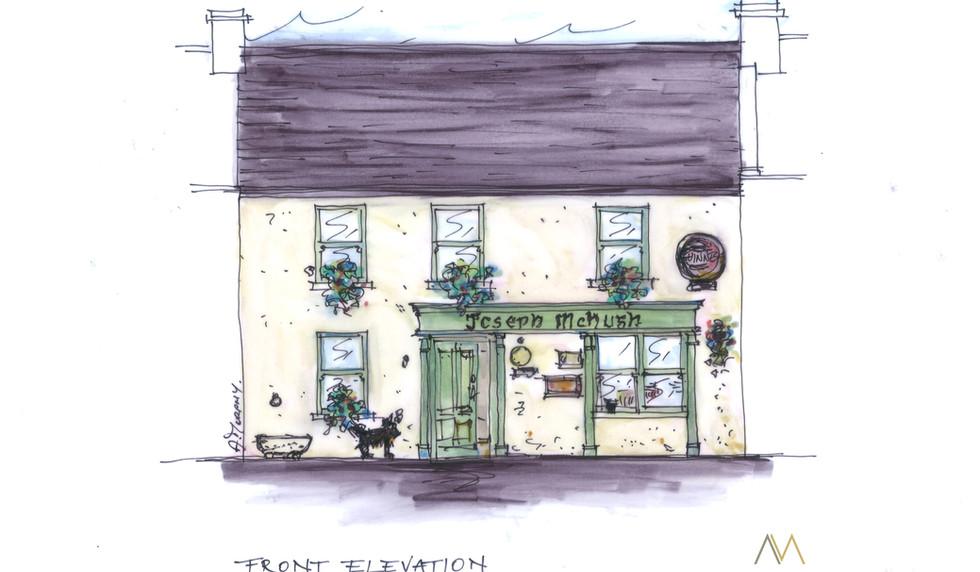 Joseph McHugh's Pub, Liscannor, Co. Clare, AM Design, Traditional Irish Pub Design & Fit Out