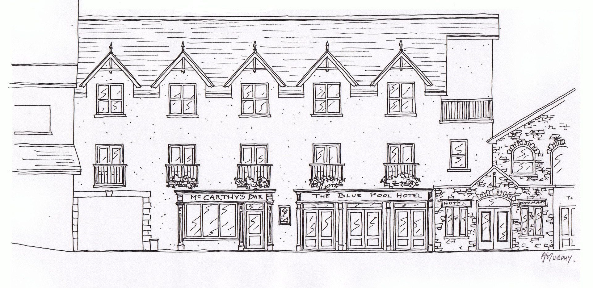 McCarthy's Bar, Glengarriff Park Hotel, Glengarriff, West Cork, Co. Cork, AM Design, Traditional Irish Pub Design & Fit Out, www.amdesign.ie @amdesignireland