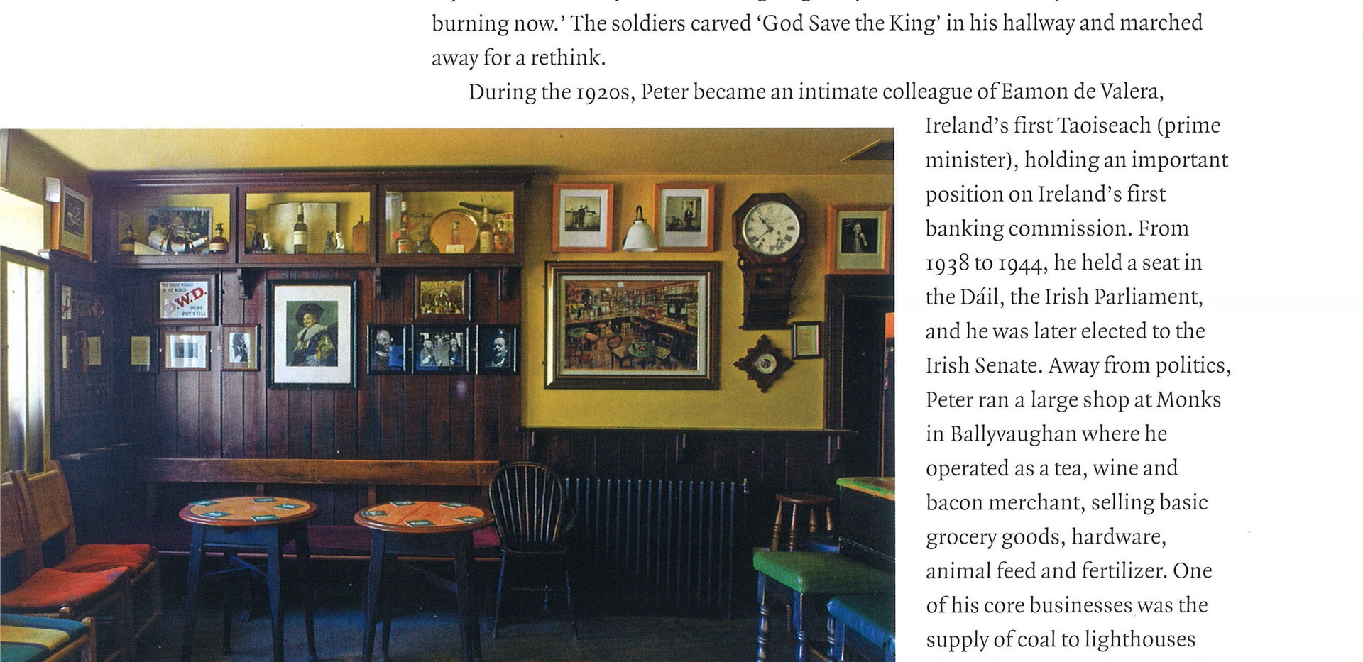 "O'Loclainn's, ""The Irish Pub"", Thames Hudson"