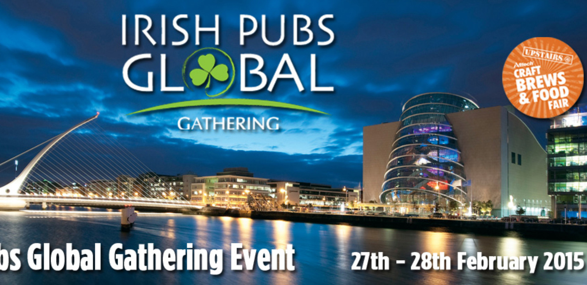 Irish Pubs Global, Gathering 2015, Dublin