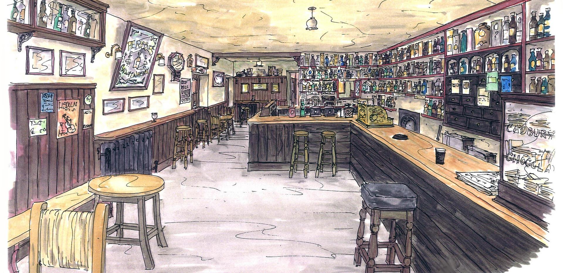 O'Loclainn's Whiskey Bar, Ballyvaughan, Co. Clare,   AMDesign, Traditional Irish Pub Design & Fitout, Renovations, Angela Murphy Design Associates Ltd. www.amdesign.ie @amdesignireland