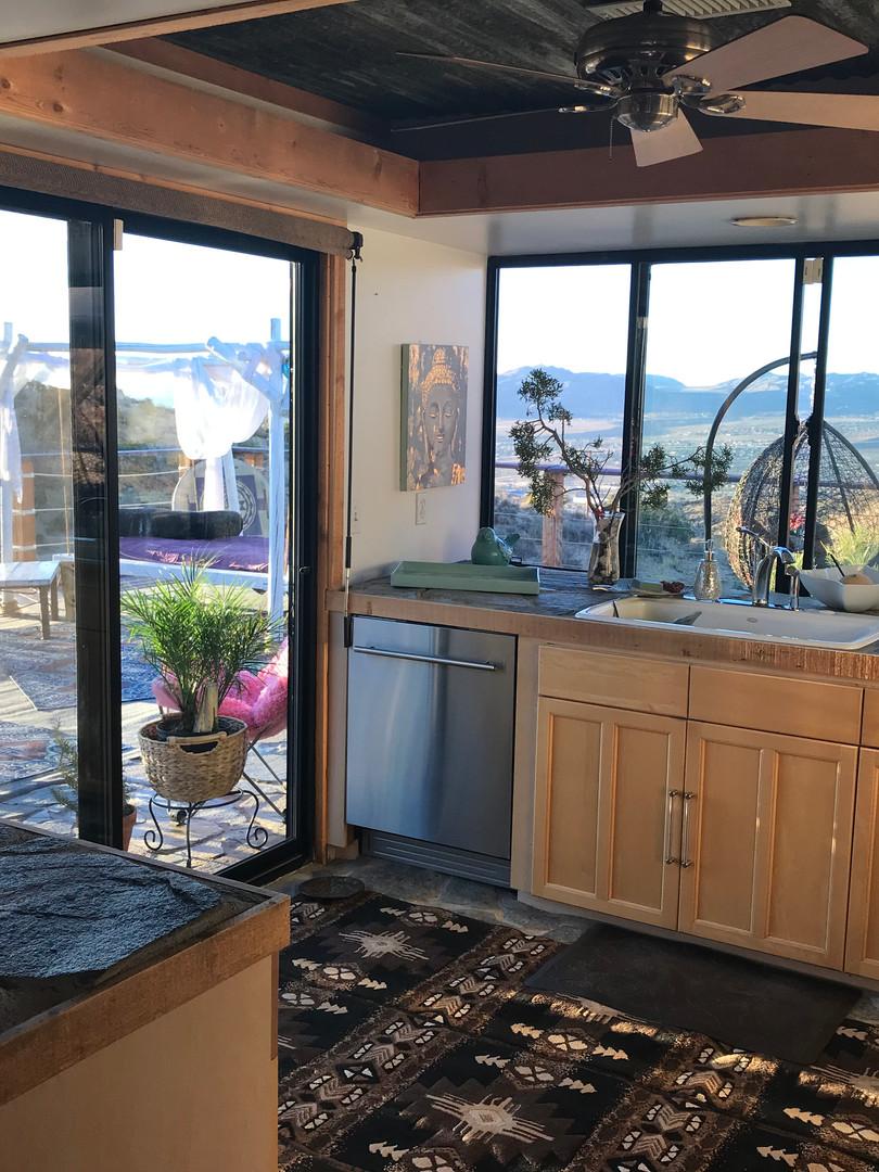 Kitchen, StarBeloved Temple Ranch