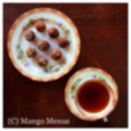 Date, Cacao, Coconut & Goji Balls
