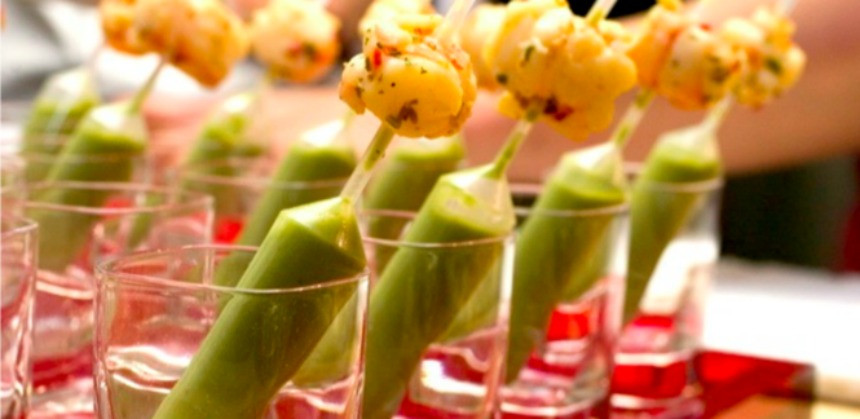 Go Gourmet catering canapes turkeys