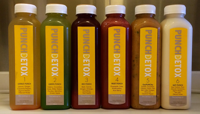 Punch Detox juicing cleanse detox review by Mango Menus