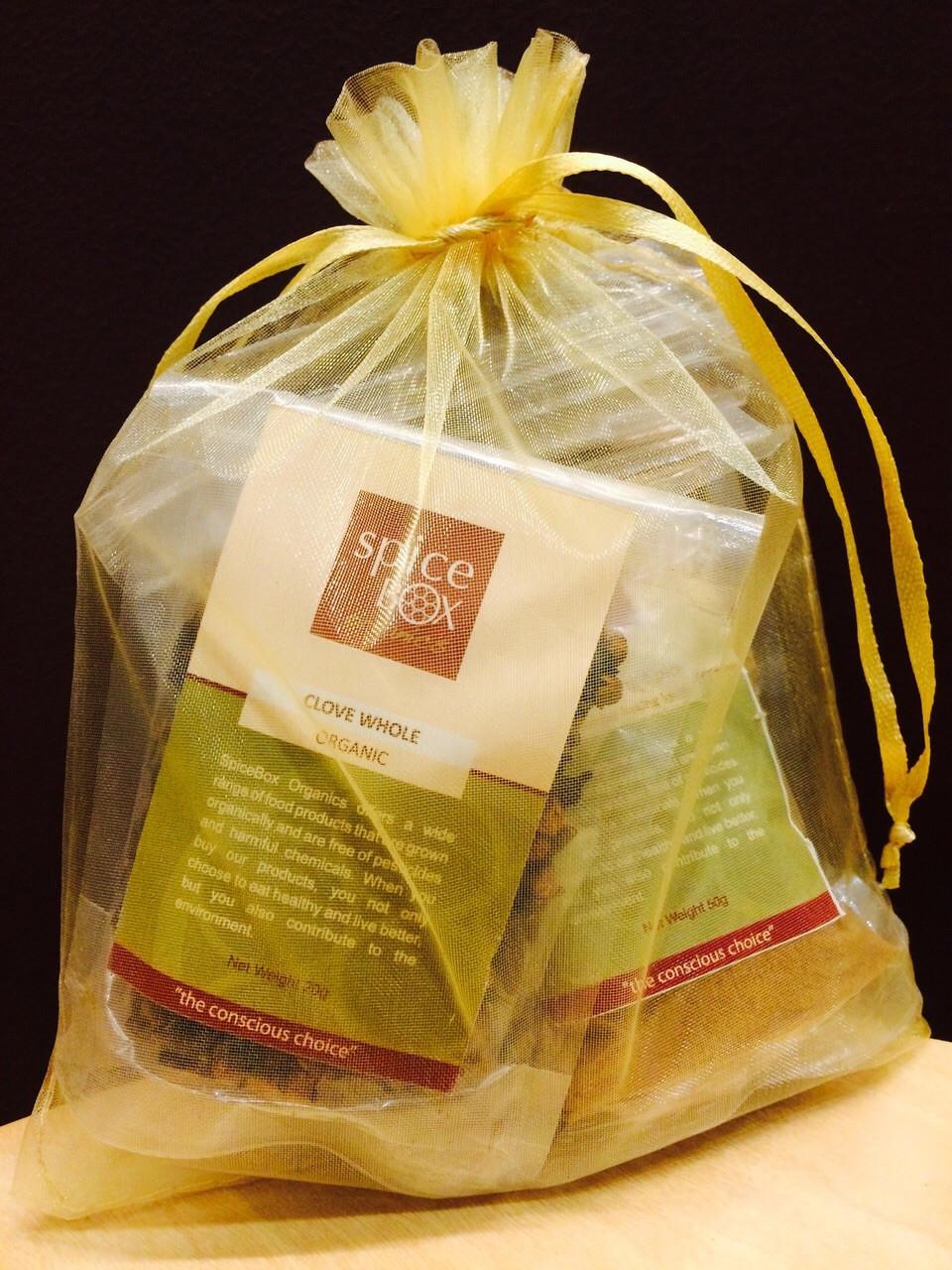 SpiceBox Organics organic baking and festive spices