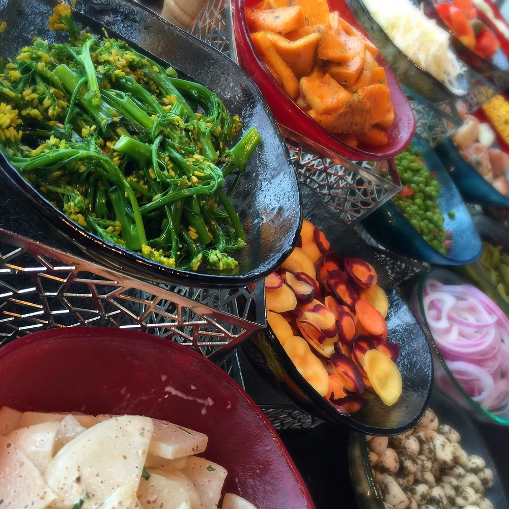 Ritz Carlton Lounge & Bar Organic Salad Bar