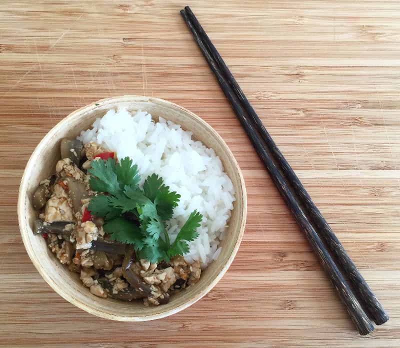 Mapo Dofu Szechuan dish