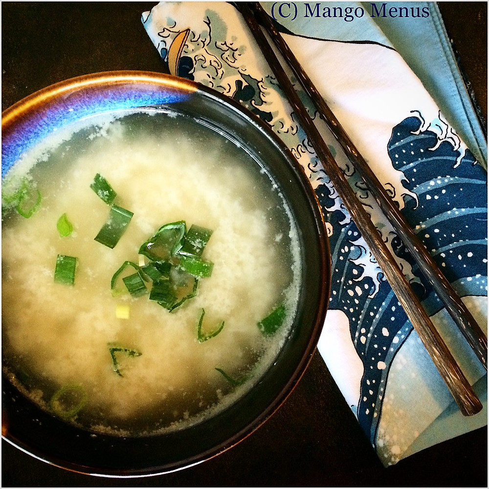 Chickpea Miso Soup from Sesame Kitchen