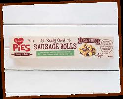 Free-range pork sausage rolls