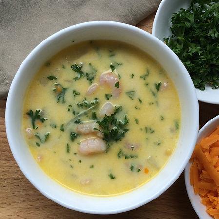 Prawn Chowder | Fish recipes | HK sustaina
