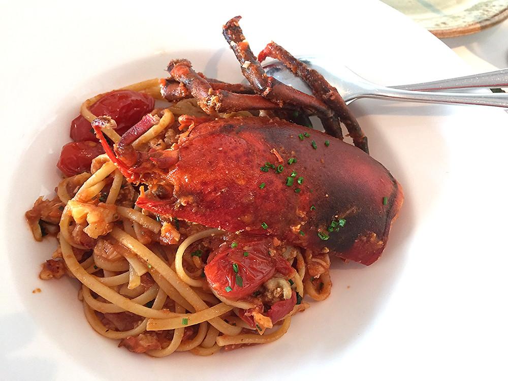 Isola lobster linguini
