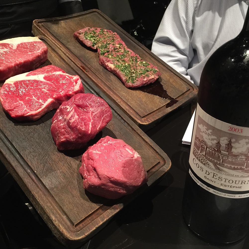 Gaucho HK Argentine beef cuts