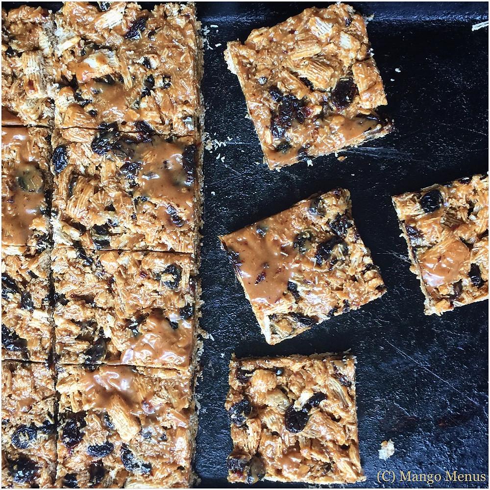 Shredded wheat squares