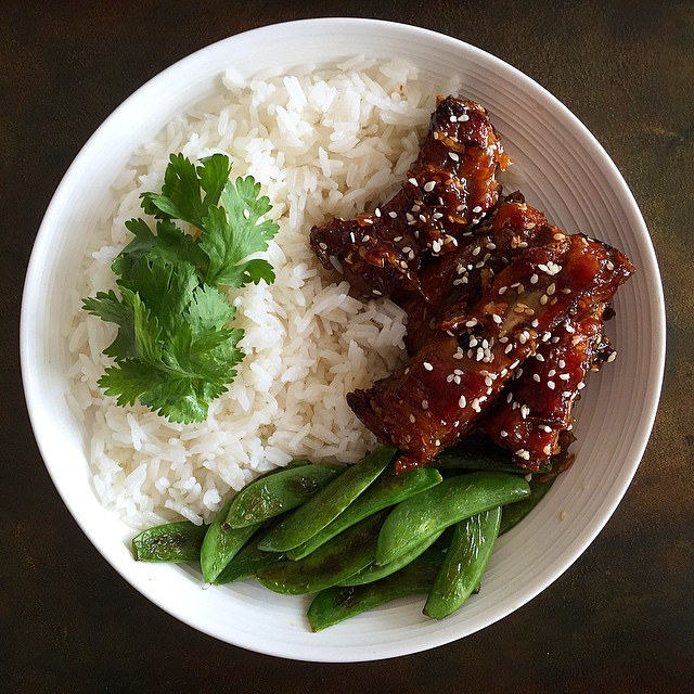 Maple Sesame Baby Back Ribs