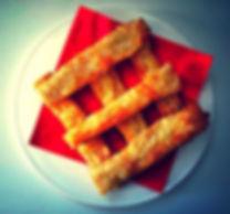 Mango Menus' cheese straws