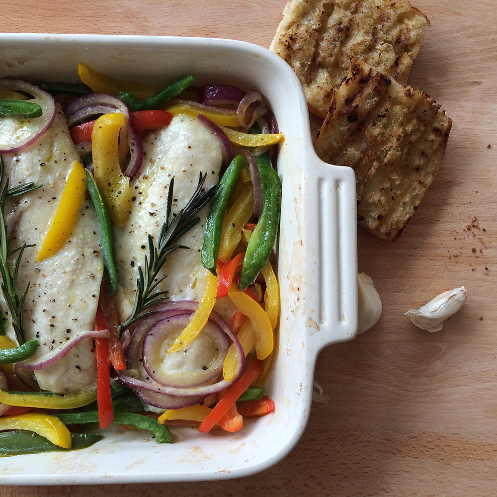 Baked Snapper with Rosemary and Bell Peppers.JPG