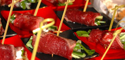 Canapes from Go Gourmet
