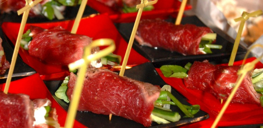 Go Gourmet Catering canapes and Magnolia turkeys