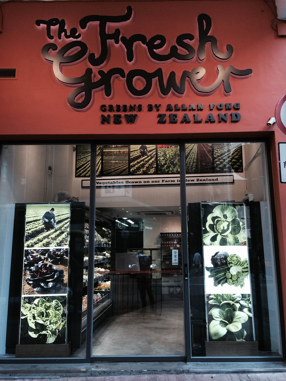 Fresh Grower HK fruit and veg delivery
