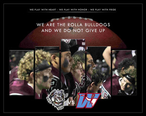 Rolla Bulldogs Football 10/27/17