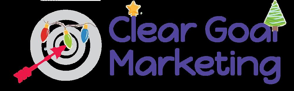 Clear Goal Marketing Christmas logo