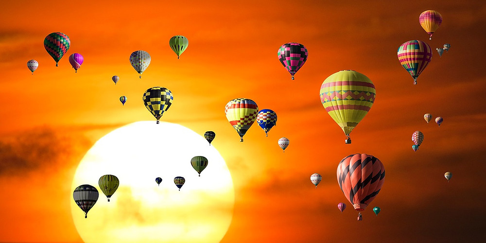 Hot air balloons - Clear Goal Marketing