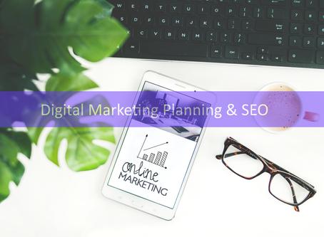 Digital Marketing Planning and SEO – the basics