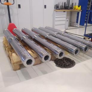 Finished shafts