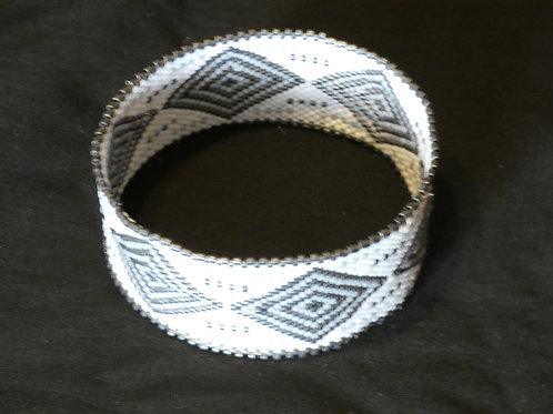 bracelet peyote en perles Miyuki, création artisanale