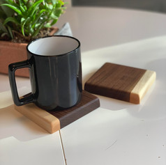 Walnut & Maple Coasters
