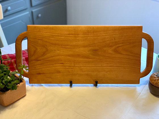 Double Handle Charcuterie Board - Cherry